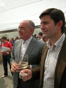 J. Jiménez Alcalde de Verín y Samuel Juárez Conselleiro de Medio Rural